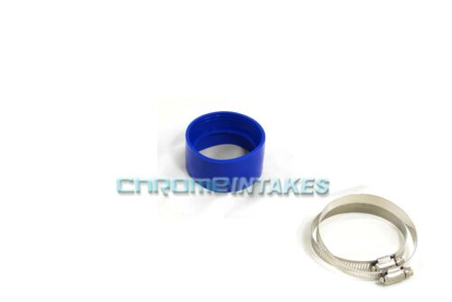 """BLUE 3.5/""""-3.5/"""" AIR INTAKE//PIPING RUBBER COUPLER FOR PONTIAC//OLDS"""