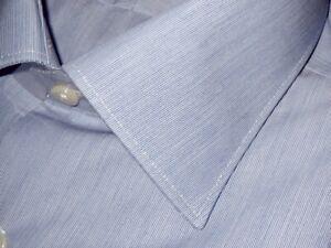 NWT-IKE-BEHAR-BLUE-MICRO-STRIPE-CLASSIC-FIT-DRESS-SHIRT-17-5-34-35