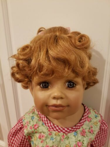 """WIG ONLY NWT Monique Molly Ginger Doll Wig For Dol 16-17/"""" fits Masterpiece Doll"""