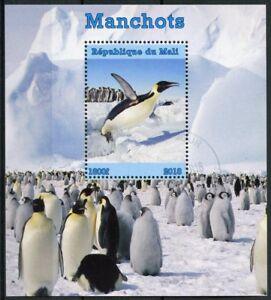 Mali-2018-CTO-PINGUINI-PINGUINO-IMPERATORE-1v-M-S-manchots-bird-birds-stamps