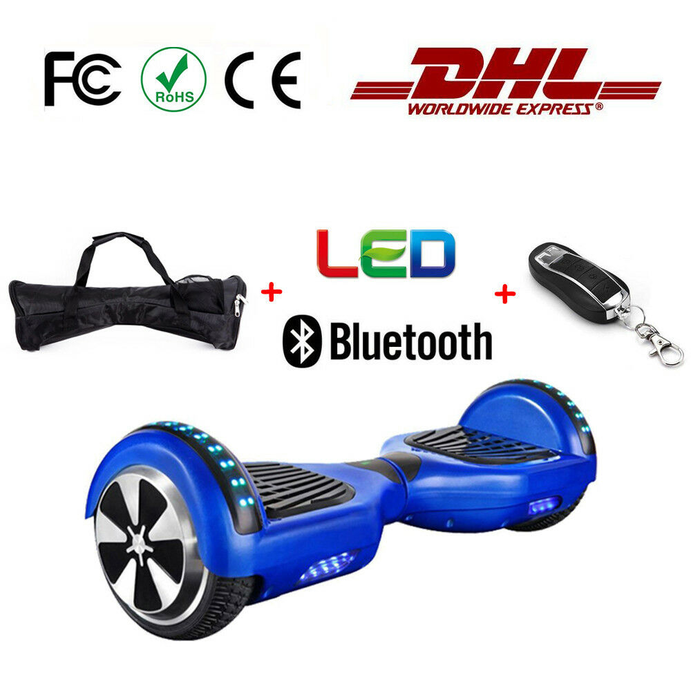 6.5 Smart Electric Self Self Self Balance Scooter Board Blautooth remote control LED ced330
