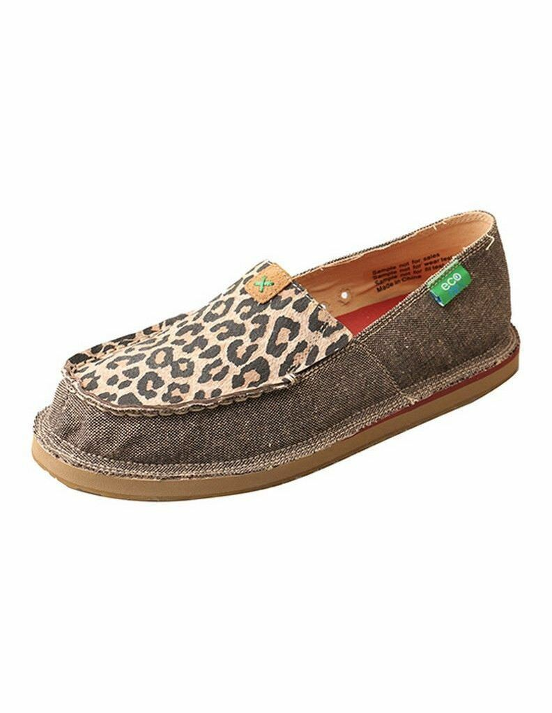 Twisted X Casual sautope donna Loafer ECO TWX Dust Leopard WCL0001