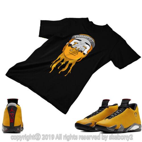Men S Clothing Custom T Shirt Matching Style Of Jordan 14 Reverse Yellow Ferrari Jd 14 3 1 Clothing Shoes Accessories Quiebre Cl