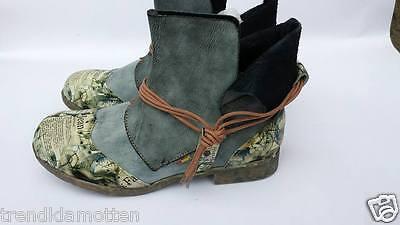 TMA 5161-1 Echt Leder Comfort Stiefelette Boots 36 37 38 39 40 41 42 Fußbett