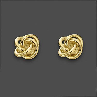 Ohrringe Ohrstecker Zirkonia weiss Echt 750er Gold 18K vergoldet O1471 UVP:63€