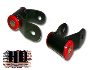 "Dodge Ram 2002-2008 2/"" HD Suspension Lowering Drop Shackles Kit"