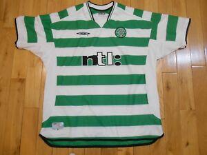 7ad8c3d8639 Umbro Vapa Tech CELTIC FOOTBALL CLUB 1888 Soccer Football Jersey Kit ...