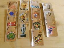 PANINI FIGURINE SET COMPLETO 20 SCUDETTI EURO 2004 WC EM 04