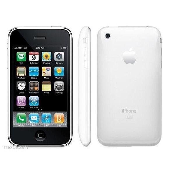 Original Unlocked Apple iPhone 3GS iOS - 8GB - Smartphone-White/Black