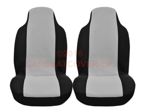 Land Rover Freelander Pair Luxury GREY and BLACK Car Seat Covers 1997-06