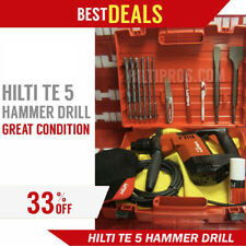 Hilti Te 5 Hammer Drill Strong Preowned Made In Germany Fast Shipping