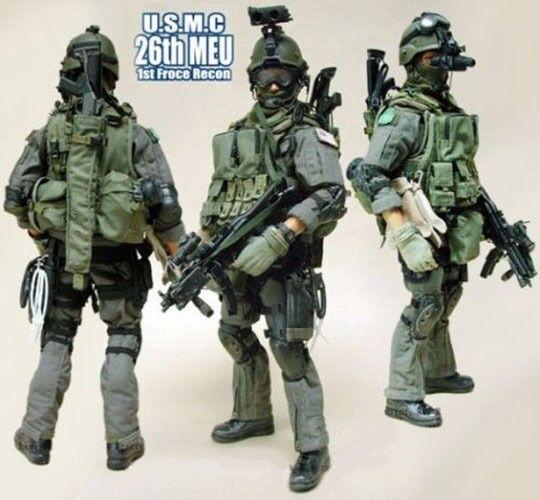 Hot Juguetes U.S.M.C 26th Meu 1st Force Recon