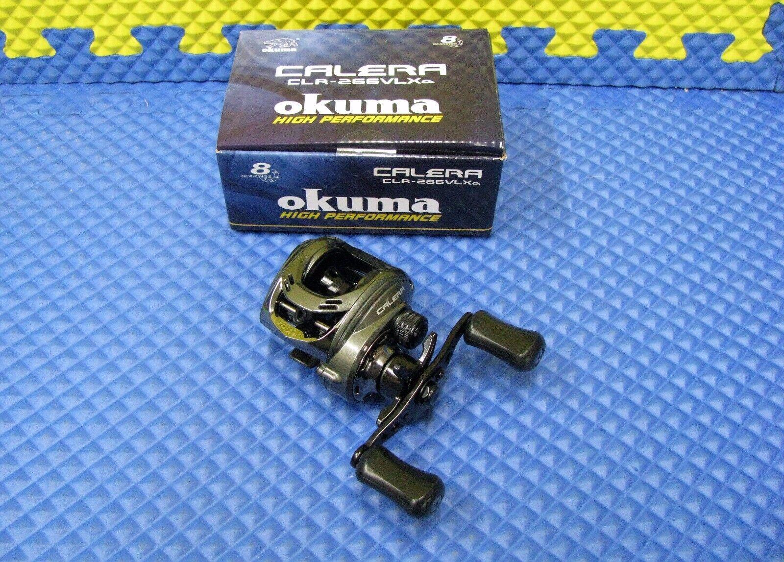 Okuma Calera Niedrig Profile Baitcast Reel Left-Handed CLR-266VLXa