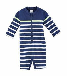 Infant Boys Carter/'s White Zip Close Swimwear Cover-Up Size 6//9 Months