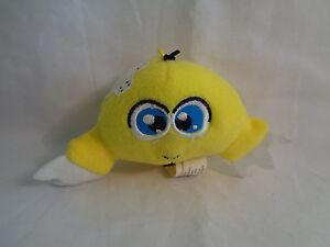 2005-McDonald-039-s-Neopets-Yellow-Kiko-Plush-As-Is