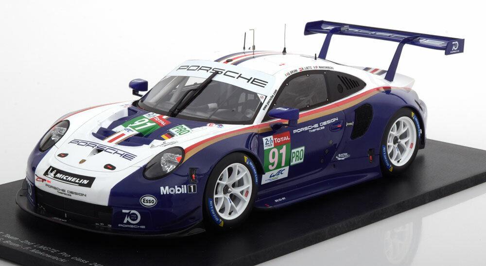 1 18 Spark 911 RSR 991 24h of Le Mans 2018 WEC redhmans Livery