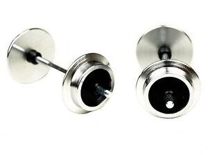 LGB-67343-metal-juego-de-ruedas-pequenas-20-mm-2-ejes-para-campo-Ferrocarril-Tren-de-jardin-pista-G