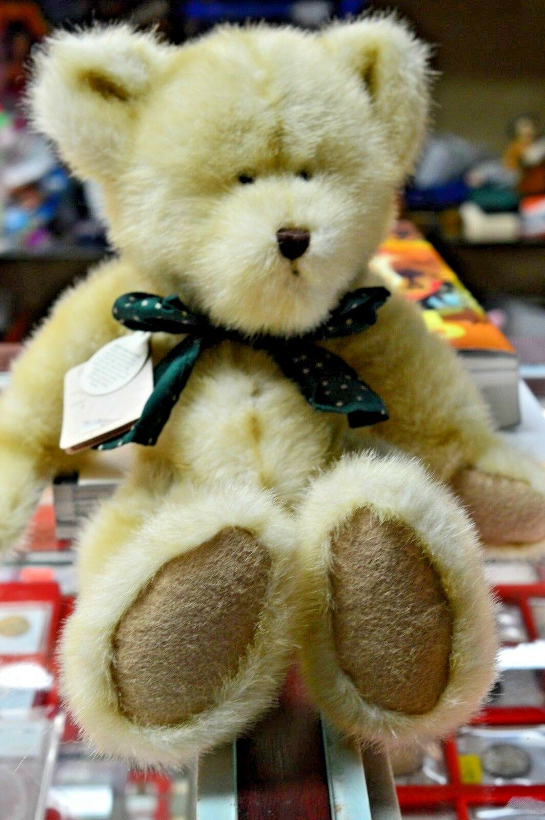 Boyds Collection 14in BRINKLEY BEARSDALE  Plush Bear RARE Hand Made