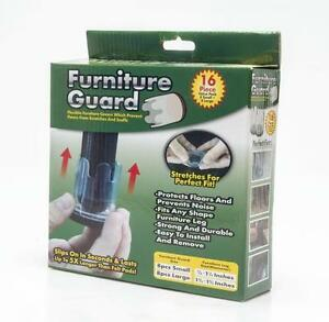 16-pack-Furniture-Guard-Chair-Leg-Table-Feet-Cap-Floor-Protector-8-Small-8-Large