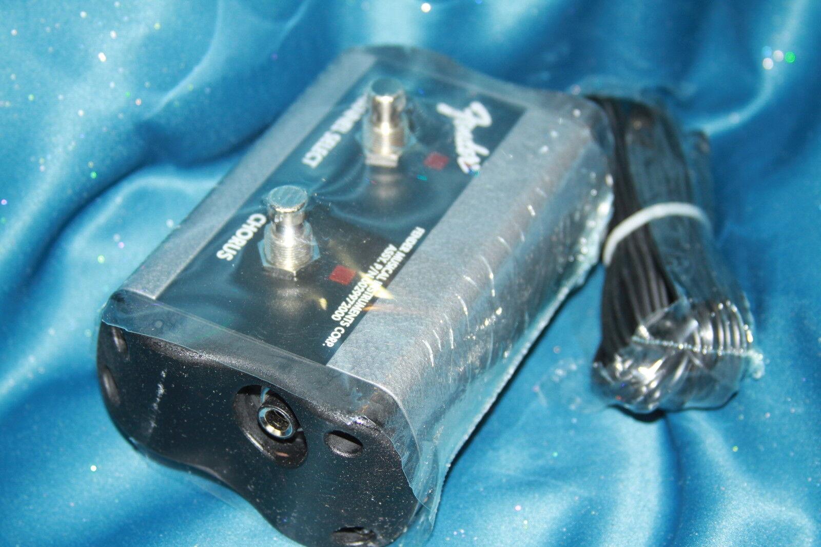 Fender 2 botón botón botón Canal Chorus Pedal, 0994057000 149909