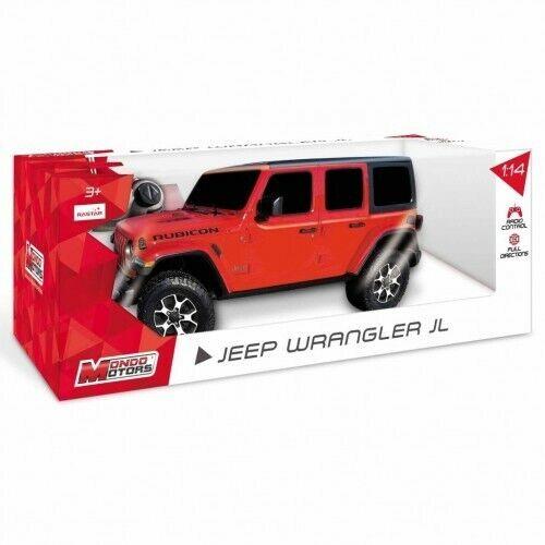 Macchina radiocomandata Jeep Wrangler JL Mondo motors 63607