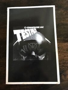 Vintage-Commodore-64C-Test-Pilot-Video-Game-Book-Manual-1989