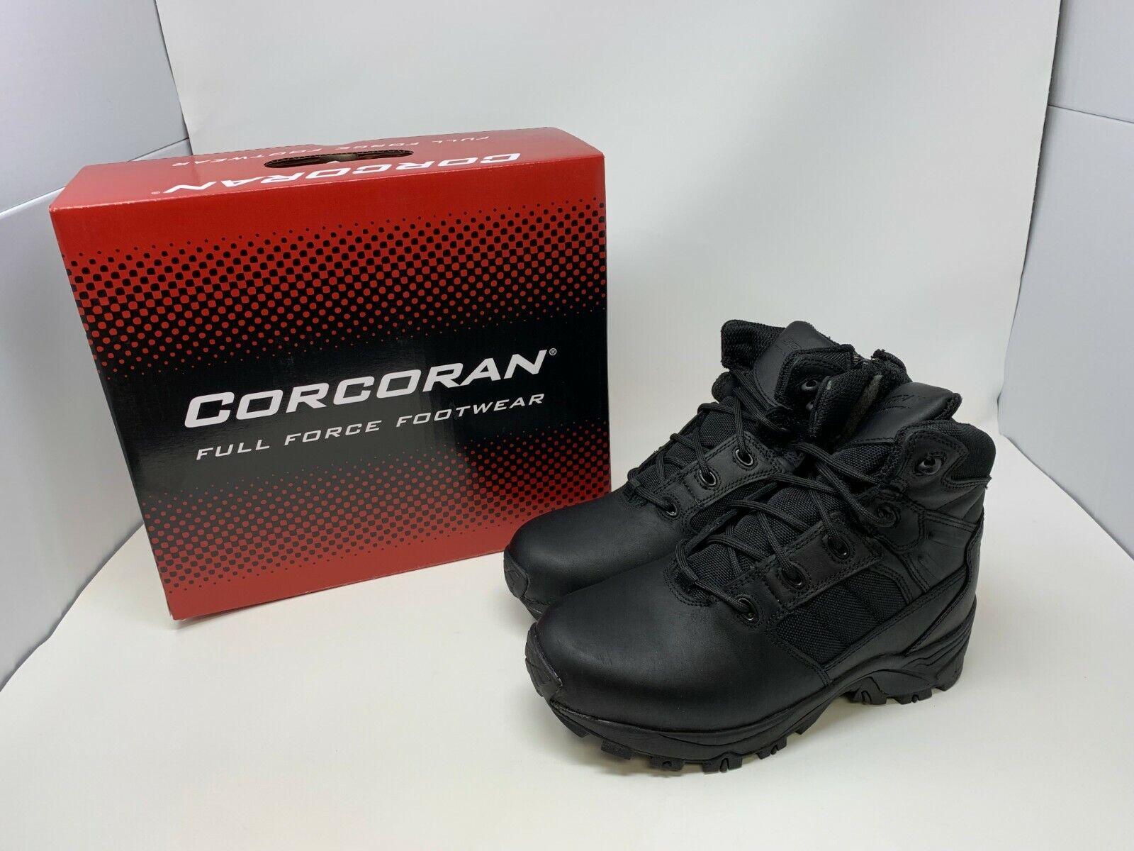 Mens Mens Mens Corcoran (CV5002) 6' Non-metallic tactical Stiefel with side zipper (G16-18) 3a7174