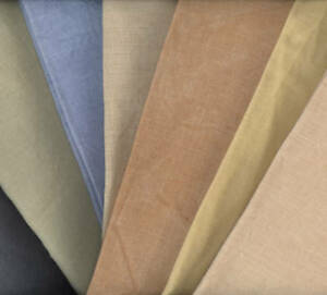 30 ct Hand-Dyed Linen by R&R Reproductions- U CHOOSE