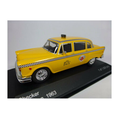 "209610 WHITEBOX WB194 Checker Marathon /""New York Taxi/"" gelb Maßstab 1:43 NEU!°"