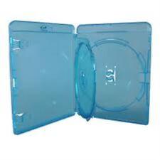 25 DOPPIO BLU RAY caso da 14 mm Spina Con Interno Swing VASSOIO contiene 2 Dischi Amaray NUOVO