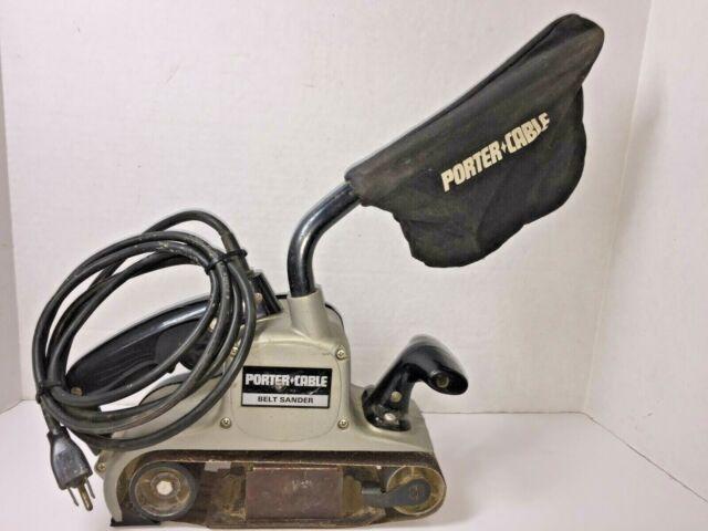Vintage Porter Cable Rockwell 337 3 X 21 Power Belt Sander With Dust Bag For Sale Online