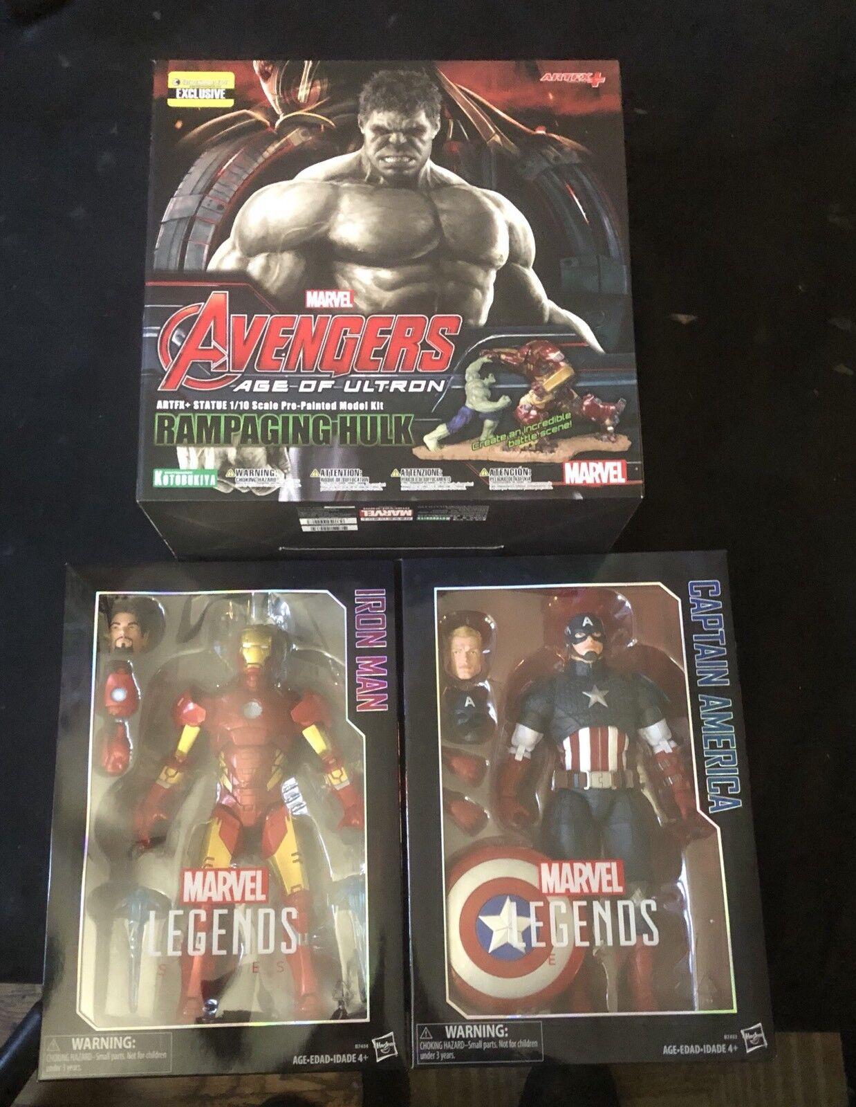 復讐者は、アイアンマンとキャプテンアメリカ  マーベル伝説12
