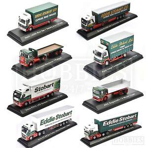 Eddie-Stobart-Trucks-Vans-Diecast-Models-1-76-Scale-Scania-MAN-Volvo-Ford-Atlas