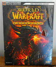 Guide stratégique WORLD OF WARCRAFT CATACLYSM version FR NEUF SOUS BLISTER !