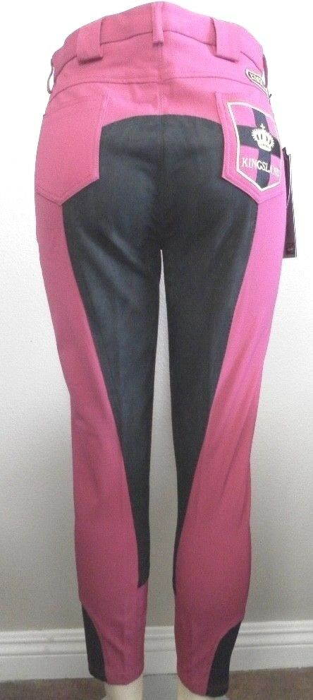 Ladie's Slim Fit Full Pelle Seat Breeches Kingsland Kingsland Breeches Equestrian