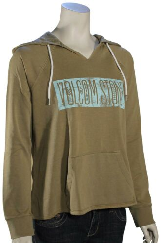 Volcom Revolver Women/'s Hoody New Army