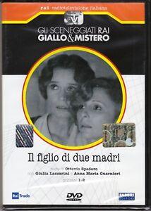 Dvd-Sceneggiati-Rai-IL-FIGLIO-DI-DUE-MADRI-di-O-Spadaro-completa-nuovo-1976