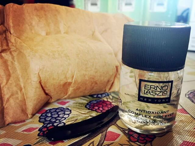 Erno Laszlo ANTIOXIDANT COMPLEX FOR EYES (0.5 OZ) New & Pack with brown paper