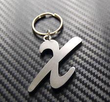X Letter Alphabet Name Keyring Keychain Key Fob Bespoke Stainless Steel Gift