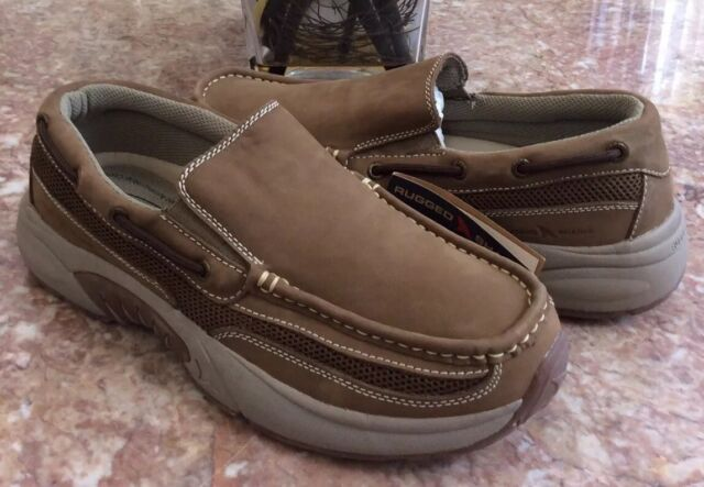 Tan Leather Comfort Boat Shoes