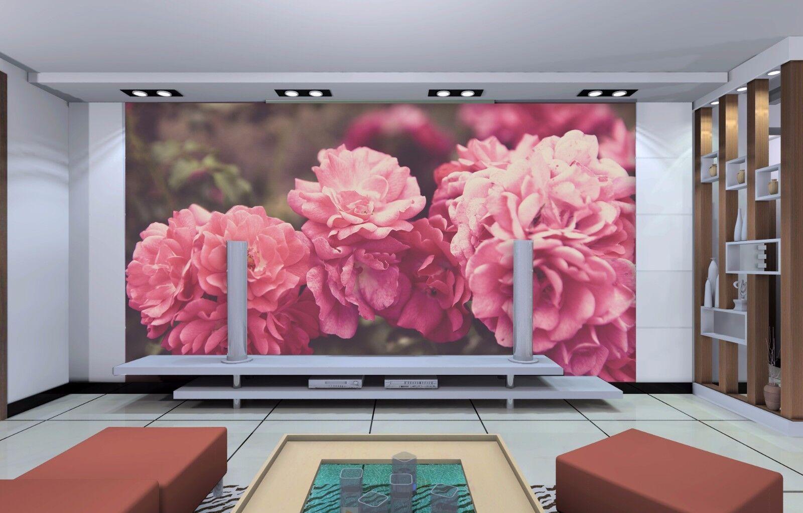 3D Pink Petals 445 Wallpaper Murals Wall Print Wallpaper Mural AJ WALL UK Summer