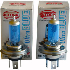 H4 9003 HB2 12V 100/90W ULTRA BLUE BULB KIT (2 BULBS)