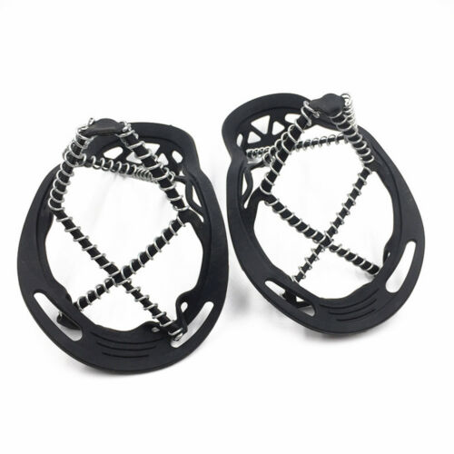 Ice Grippers Anti Slip Universal Snow Spikes Crampons Boot Shoes Grips Cleats.1