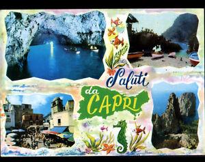 CAPRI-ITALIE-Marche-anime-amp-GROTTE-SALUTI-da-en-1986