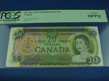 1969 $20 Canada Beattie Rasminsky replacement note BC-50aA *EM PCGS 30PPQ