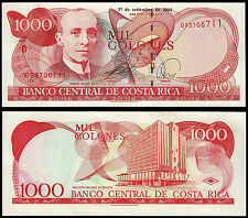COSTA RICA 1000 COLONES (P264e) 2004 UNC