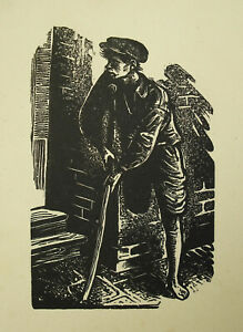 Wood-Original-Of-Fiszel-Zylberberg-Zber-1909-1943-Poland-c1930