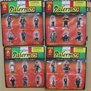 24 Italian Homies Called Palermos Complete Set Of All 24 Different Figures Ebay