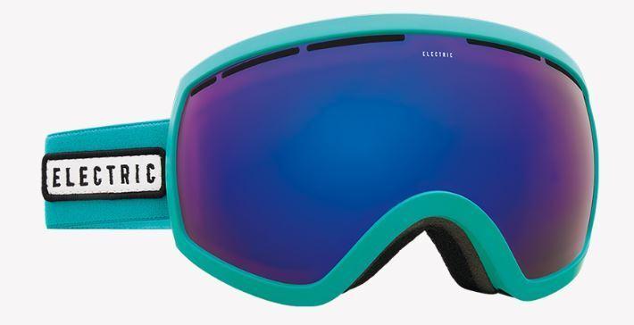 Electric, Goggle, Goggle, Goggle, EG 2.5, Frame  turquoise, Lens  bRosa Blau chrome ce22e0