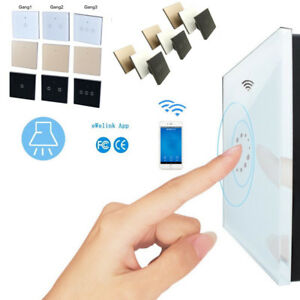 Smart-Remote-Control-WIFI-Wireless-Switch-LED-Light-Touch-Panel-for-Alexa-Home